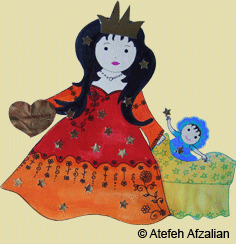 Prinzessin mit Kind